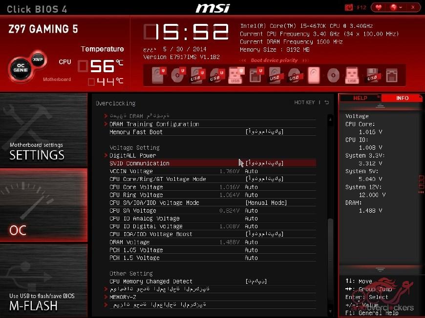 مراجعة اللوحة الأم MSI Z97 GAMING 5